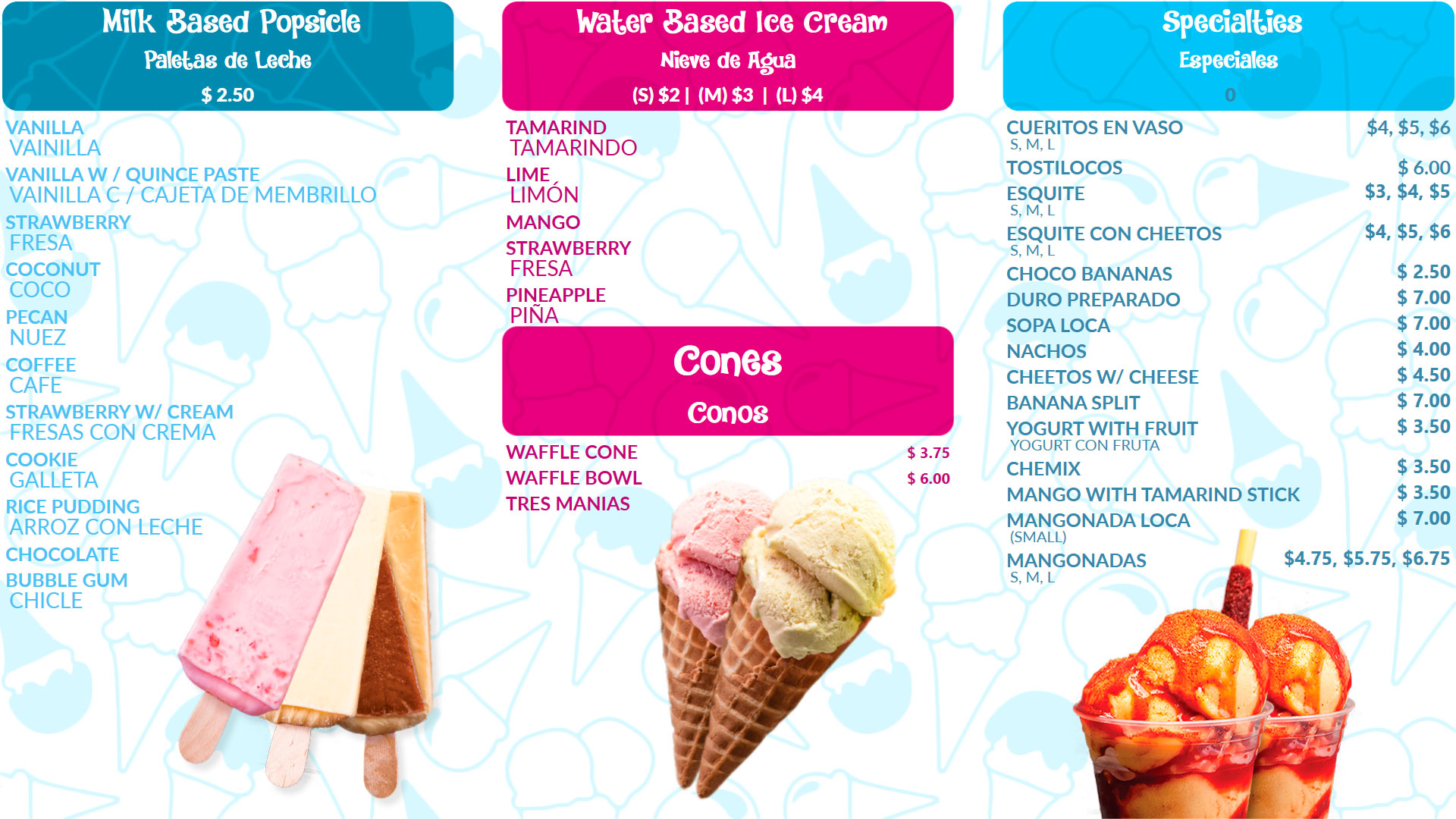Digital Signage for Ice Cream Shop